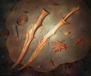 Mirkwood Long-knife by KoTnoneKoT