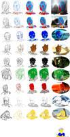 How Mir Draws Bionicle