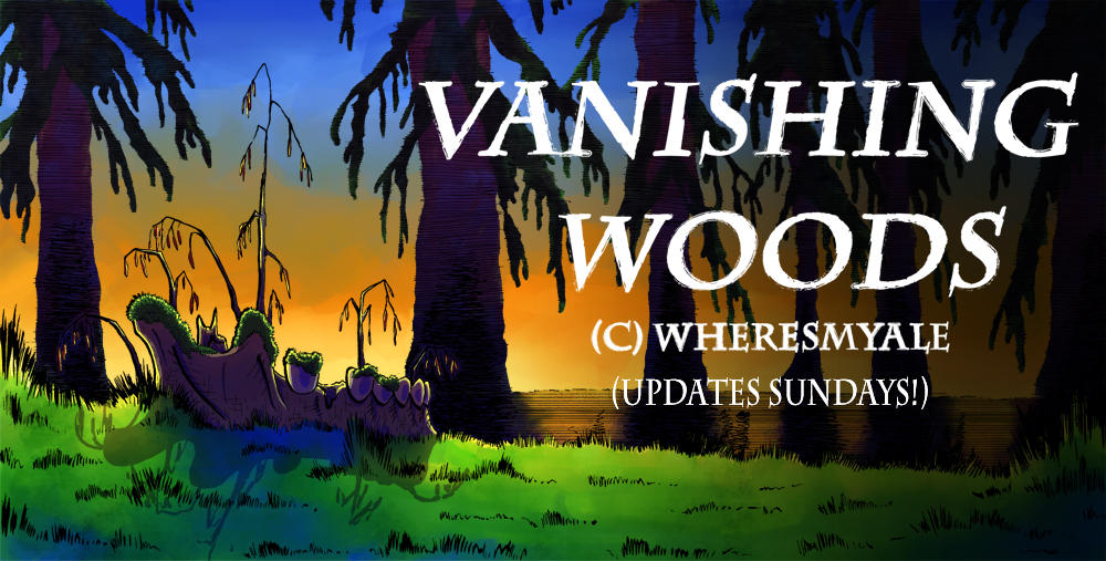 Vanishing Woods Banner
