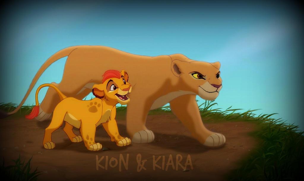 Kion And Kiara By Stormchaserluvr On Deviantart