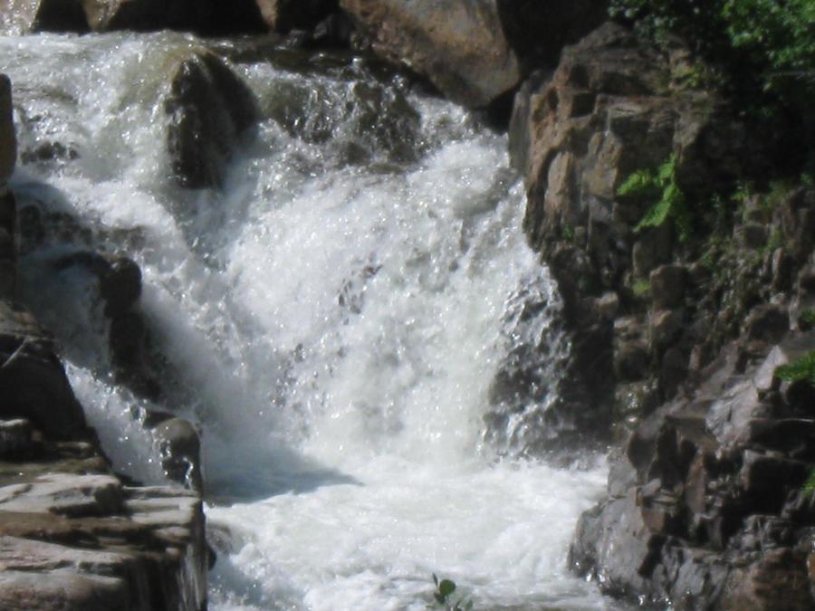 Rocky Gorge Falls. by crazygardener