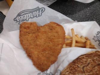 Fried heart by crazygardener