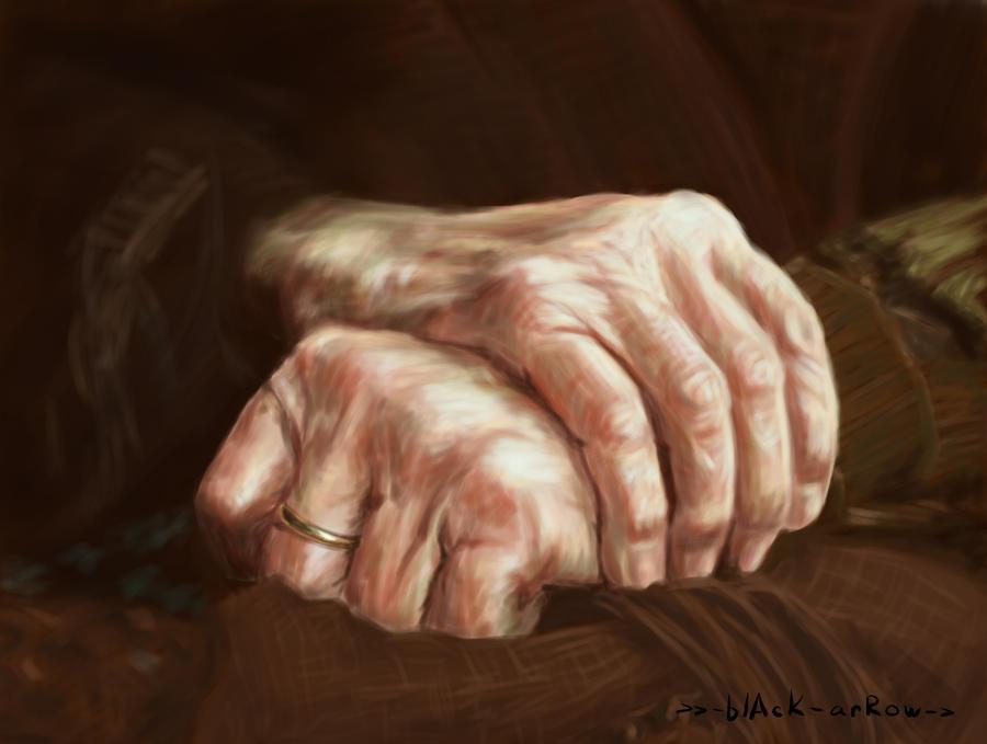 her hands by bYblAcKarRow