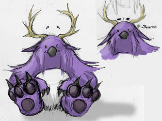 Moonkin chibi... sort of by Kaleesh-of-Kalee