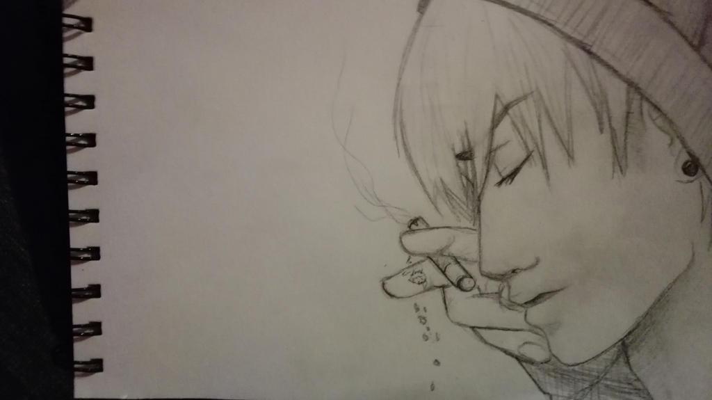 nothing else matters [ sketch ] by Darknessangel12