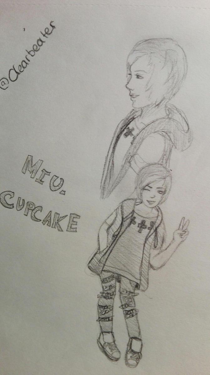 MIU Cupcake by Darknessangel12
