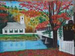 Fall Scene by Deeshow