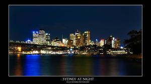 Sydney at Night by Chrypetex