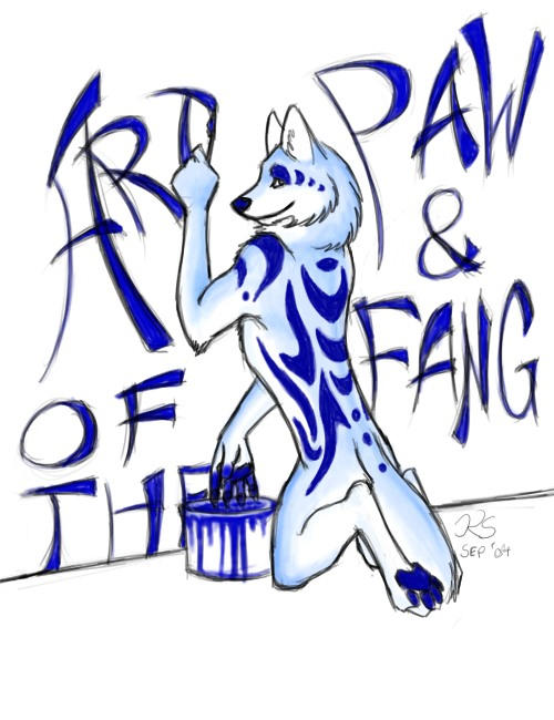 Art of the Paw and Fang Entry by ruggafluff
