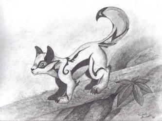 Anime Fox by GriffStar