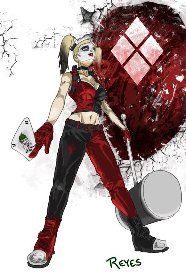 Harley Quinn by fukujinzuke