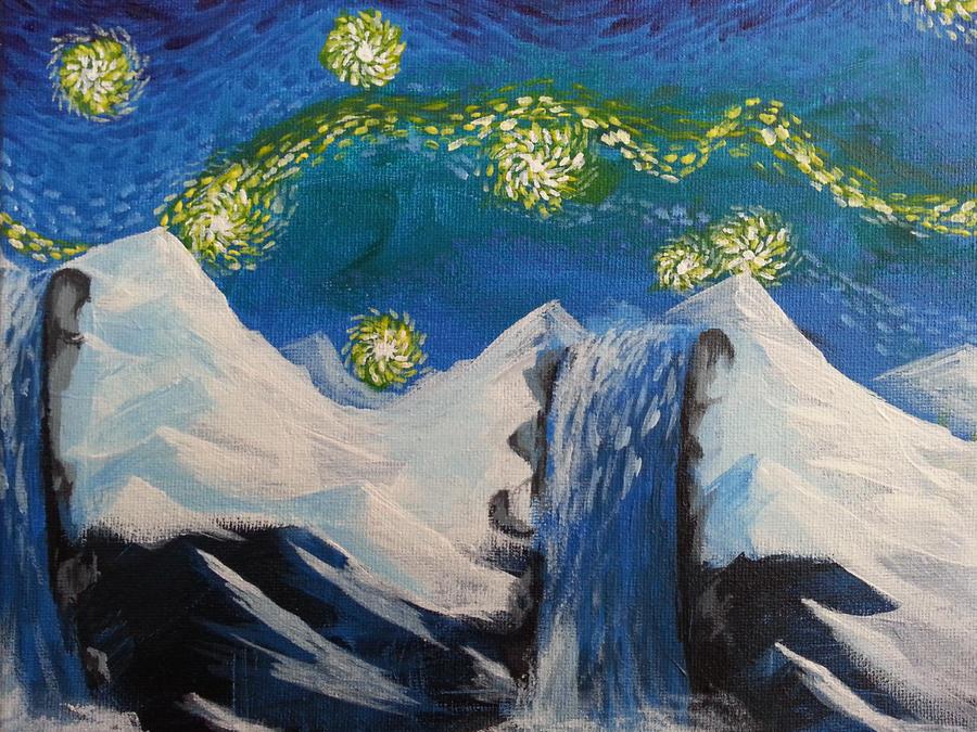 Acrylic painting no.2 by fukujinzuke