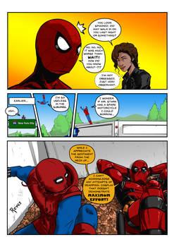 MCU Spider-Man meets Deadpool