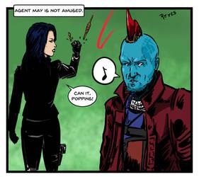 Agent May vs. Yondu