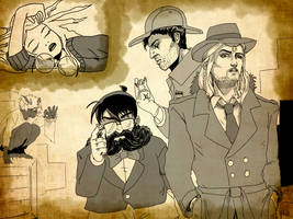 Adventurers turn to detective work for payday
