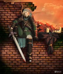 Link x Witcher
