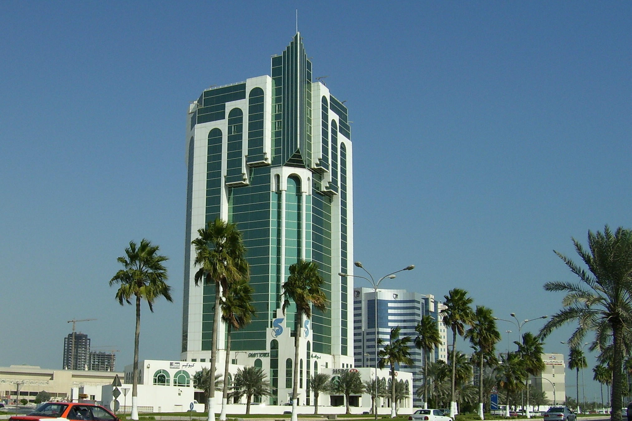 Doha Qatar  city photo : DOHA,QATAR BUILDING by frisbeerichard on DeviantArt