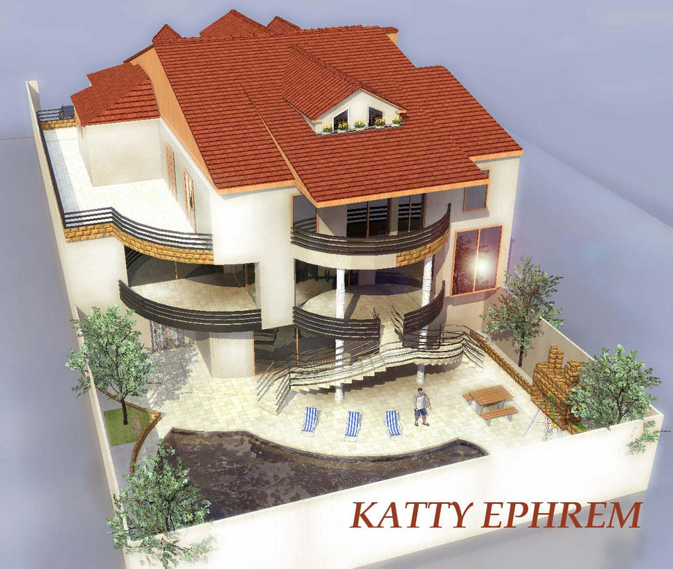 Plan de maison by kattyfrem on deviantart - Plan architecturale de maison ...