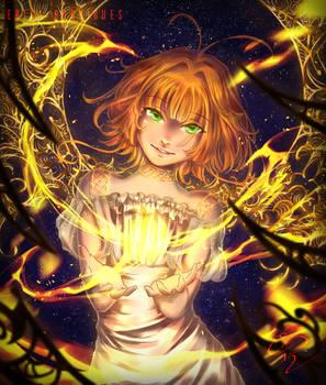 [+Video] Sakura Element Fire! =D