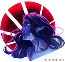 [Commission] Stellar God by RicaSensei
