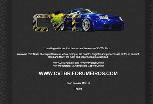 CVTBr Forum