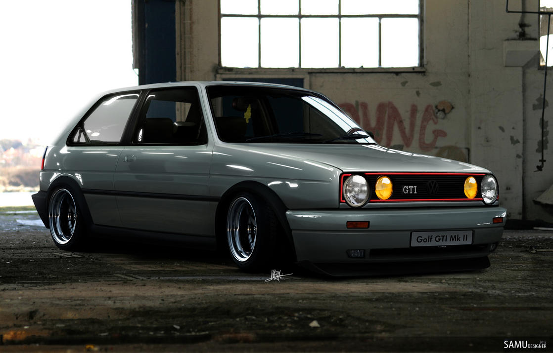 Golf MK2 GTI Euro by SaMuVT