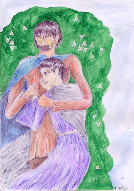 Beren and Luthien by romenriel