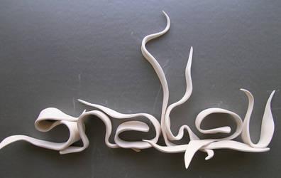 porcelain piece plain by megmogmoog