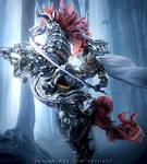 Odin - ffXIV A Realm Reborn by Aetiiart