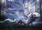 FinalFantasyXIV Endwalker - Estinien and Vrtra by Aetiiart