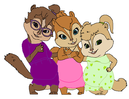 AATC4 Pregnant Chipettes by Soraply11 on DeviantArt