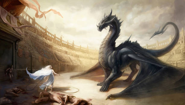 Dragontamer by EvaMariaToker