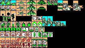bowser super mario bros 3 pixel art