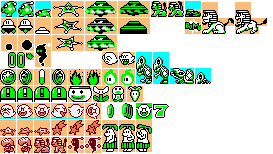 super mario bros 3 enemies sprites