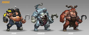 Roadhog skins by PierreBertin