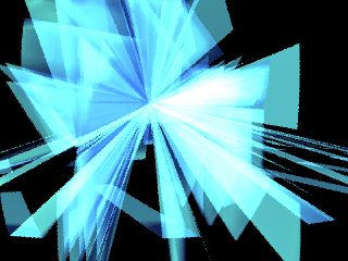 light blue abstraction