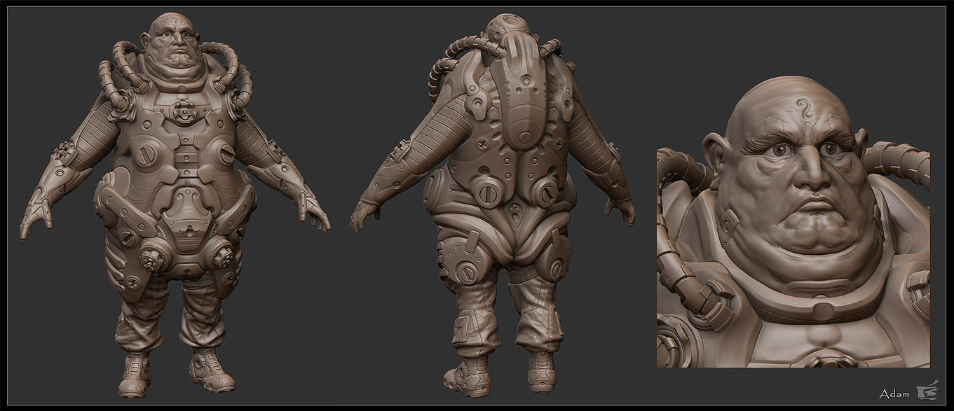 Adam Zbrush by ced66