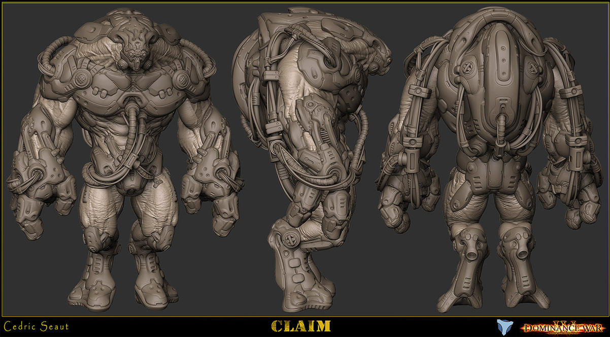 Character Design Zbrush : Claim zbrush by ced on deviantart
