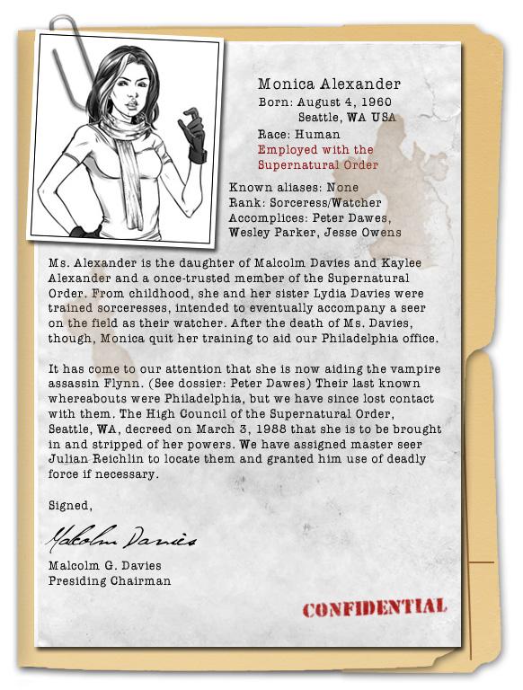 Monica Character Dossier By Writerofstuff On Deviantart