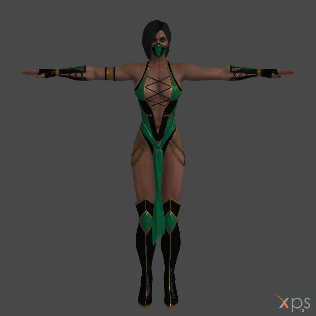 Mk9 jade nue adult model