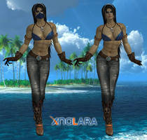 Kitana Casual by DragonLord720