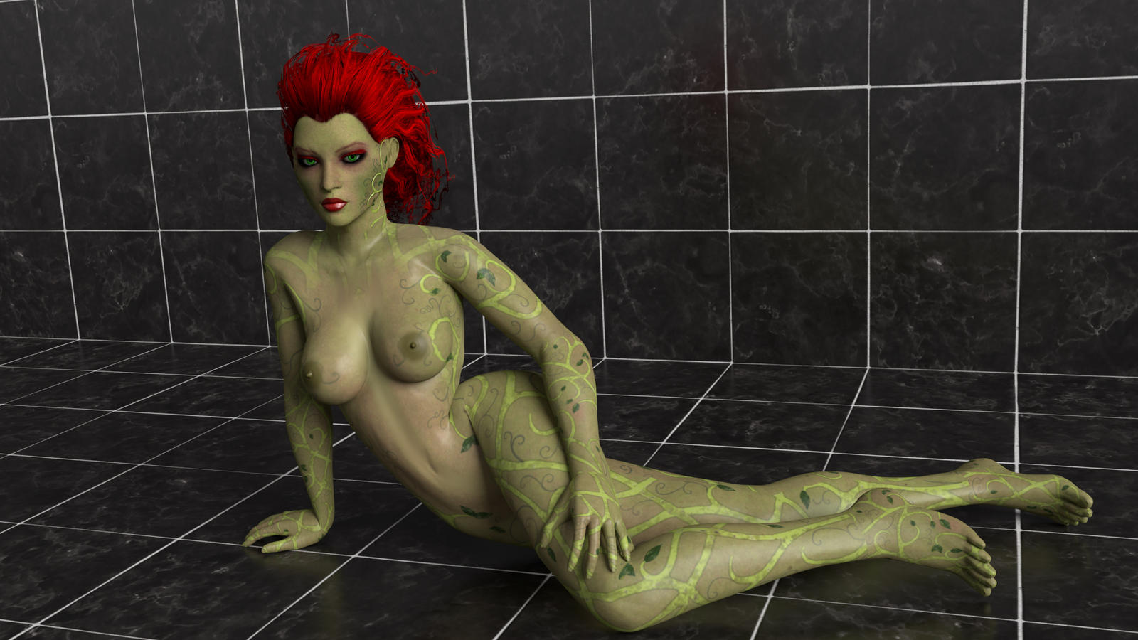 poison ivy naked