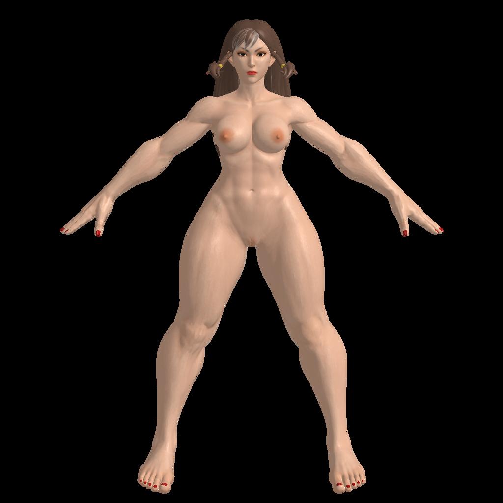 Nude chun li kasumi