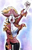 Pirate girl by joslin