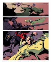 Dragon page 2 - Colors by joslin