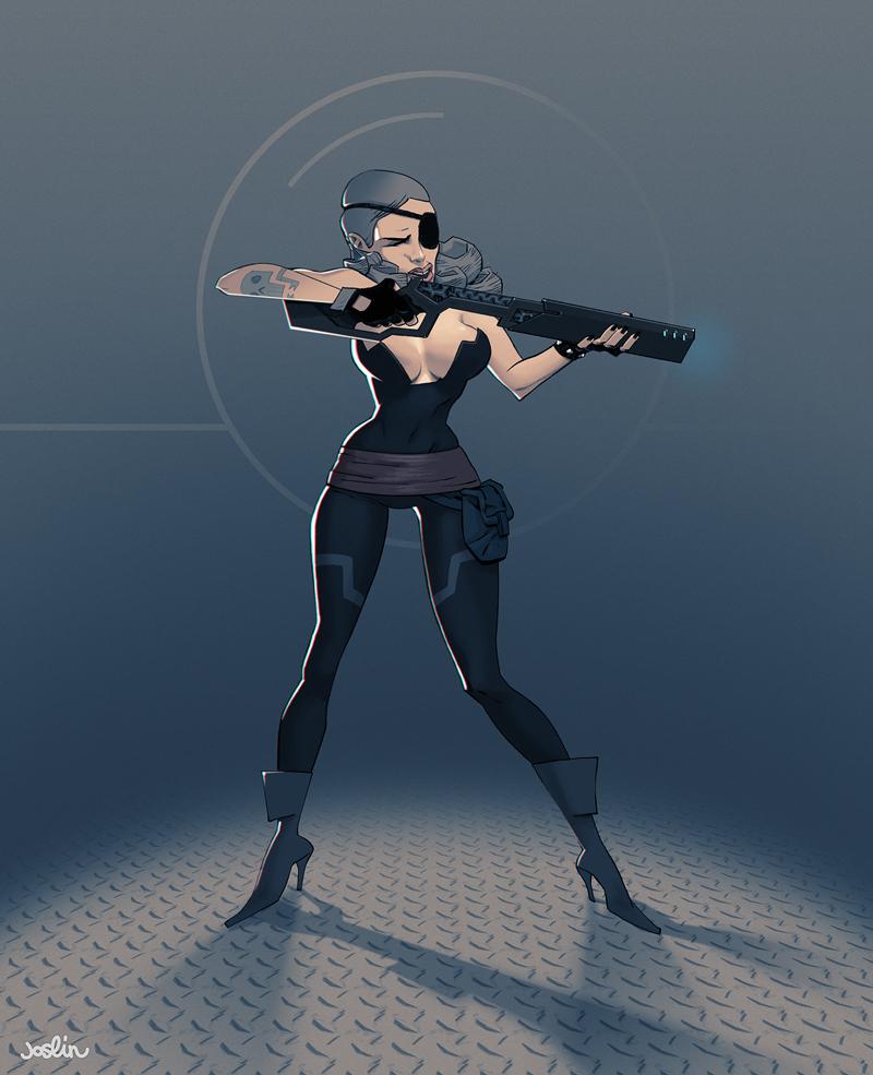 Regina Murdock - Transolar Galactica by joslin