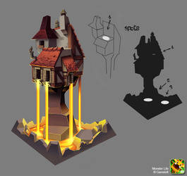 Monster Life - Medieval - Magic Tower by joslin
