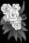 f2u white pixel flowers [right] by strobelast