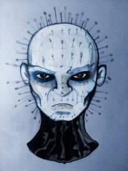 Pinhead from Hellraiser by davidbigler