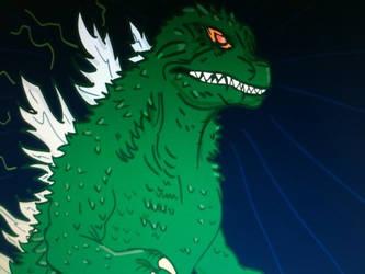 Godzilla The King of Monsters by davidbigler